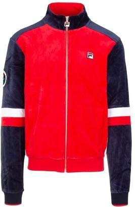 Fila Panelled Logo Zip-Up Jacket