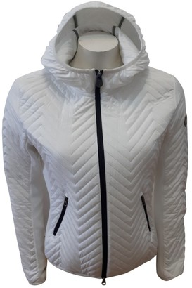 Colmar White Cotton Jacket for Women