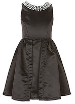 Teeze Me Girls Big Girls 7-16 Jeweled Neck Fit-And-Flare Dress