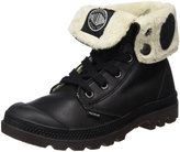 Palladium Womens Black Pilot Baggy Leather FS Boots-UK 4