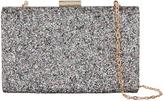 Accessorize Sophie Glitter Hardcase Clutch Bag