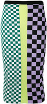 Versace Gridlock skirt - women - Cotton/Spandex/Elastane/Viscose - 38