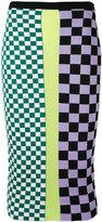 Versace Gridlock skirt - women - Cotton/Spandex/Elastane/Viscose - 44