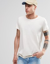 Cheap Monday Cap Sleeve T-shirt Beige