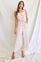Thumbnail for your product : Forever 21 Belted Wide-Leg Jumpsuit