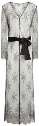 Gilda and Pearl Silk Lace Ophelia Robe