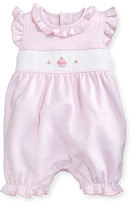 Kissy Kissy Sweet Cupcakes Pima Overall Playsuit, Pink, Size 0-9 Months