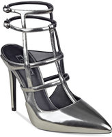 GUESS Women's Adrean Cage Pumps