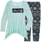 Knitworks Knit Works Legging Set with Reversible Sequins Top - Girls 7-16