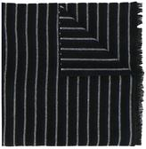 Mp Massimo Piombo - striped scarf - men - Polyamide/Virgin Wool - One Size