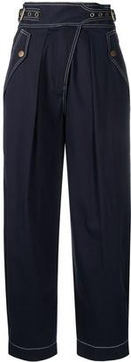 Ulla Johnson Wide Leg Trousers