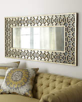 Horchow Champagne Overlay Mirror