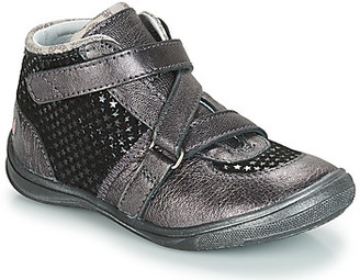 GBB RIQUETTE girls's Mid Boots in Grey