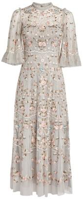 Needle & Thread Embroidered Regency Garden Ballerina Dress