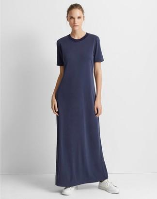 Club Monaco Short Sleeve Maxi Knit Dress