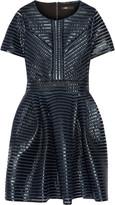 Maje Roybridge coated-mesh mini dress