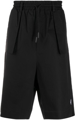 Marcelo Burlon County of Milan Exposed-Pocket Bermuda Shorts