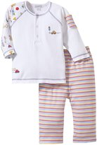 Kissy Kissy City Detour Pant Set (Baby) - Red-6-9 Months