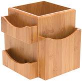 Lipper Bamboo Revolving Desk Organizer