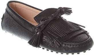 Tod's TodS Gommino Fringe Tassel Leather Driving Shoe