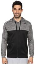 adidas Team Issue Fleece Full-Zip Hoodie - Block