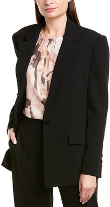 Jason Wu Crepe Silk-Trim Blazer