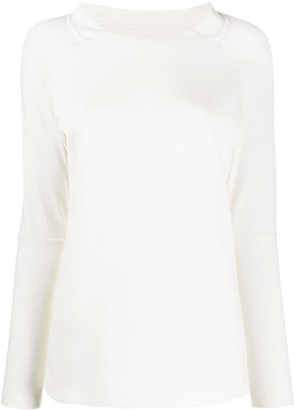 Maison Margiela Pre Owned 2000s oversized collar top