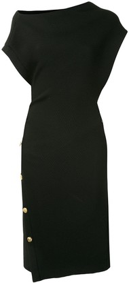 Proenza Schouler Off-Shoulder Midi Dress