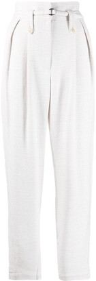 IRO High-Waist Pleated Trousers