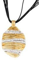 Roberto Coin Elephantino Diamond Necklace