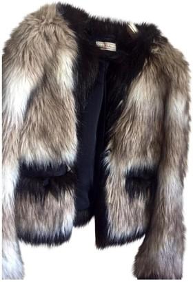 Lanvin For H&m Brown Fur Coat for Women