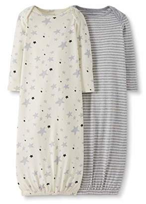 Hanna Andersson Moon and Back by Baby 2-Pack Organic Sleeper Gown