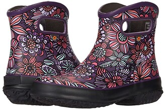 Bogs Patch Ankle Boot Bright Garden (Gray Multi) Women's Shoes