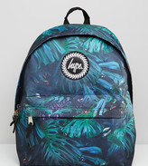 Hype Exclusive Backpack In Rain Forest Print