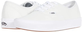 Vans ComfyCush Authentic ((Leather) White) Athletic Shoes
