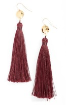 Gorjana Women's Leucadia Tassel Drop Earrings