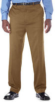 Gold Series Continuous Comfort Flat-Front Sateen Pants Casual Male XL