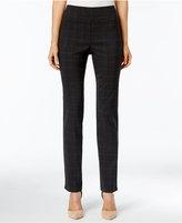 Charter Club Cambridge Plaid Slim Leg Pants, Only at Macy's