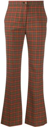 Etro checked tailored trousers