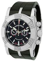 """Roger Dubuis Easy Diver Chronograph Carbon"""" Stainless Steel Watch"""
