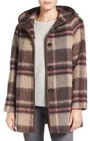 Pendleton Women's 'Phlham Bay' Hooded Wool Blend Coat