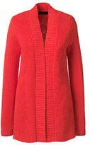 Classic Women's Petite Drifter Open Cardigan Sweater-Pineapple