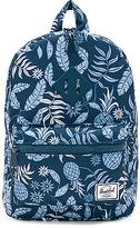 Herschel Heritage Kids Backpack in Teal.