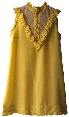 AILANTO Yellow Dress for Women