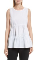 Kate Spade Women's Tiered Poplin Top