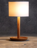 Marks and Spencer Conran Wooden Dish Table Lamp