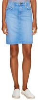 Current/Elliott The Stiletto Denim Pencil Skirt