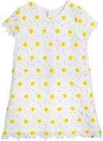 Mayoral Daisy Lace Embroidered Dress, Size 3-7