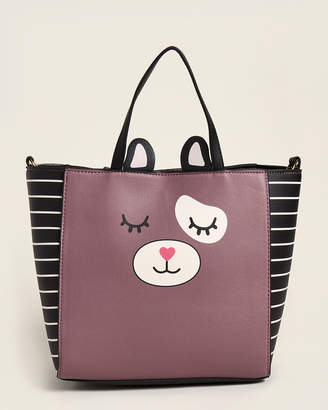Betsey Johnson Luv Betsey By Mauve Gwen Satchel