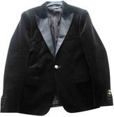 Balmain For H&M For H&m Black Velvet Jackets